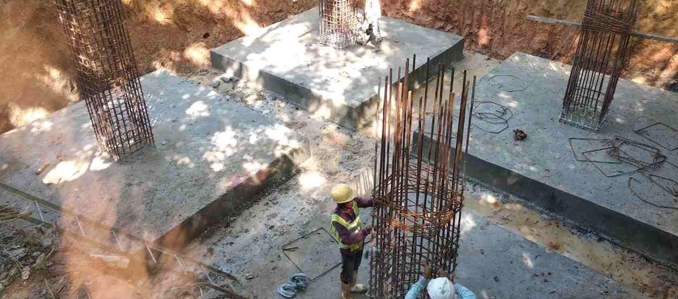 Tower Foundation Testing and Tower Installation