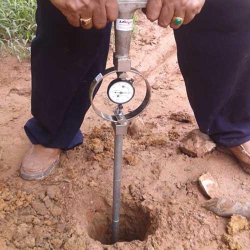 Cone Penetrometer Ring Test